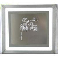Chemical-etch stencil--Framed