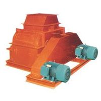 The Horizontal Crushing Machine with Two Spindles