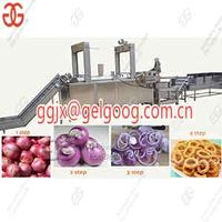 Onion Ring Process line|Fried Onion Rings Production Machine thumbnail image