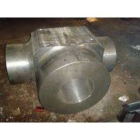 Forged valve body 17-4PH, AISI 630, steel grade 1.4542