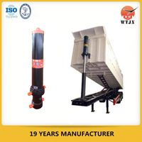 telescopic hydraulic cylinder for tractor