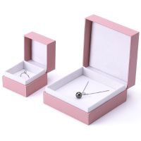 Top quality cardboard jewelry necklace paper gift box with hot foil logo