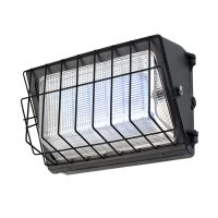 DLC Qualified Semi Cut-off LED Wall Pack Lights-Glass Refractor, 120W, 5 years warranty thumbnail image