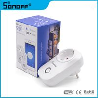 Sonoff S20 Wifi Wireless Smart Home Light Power Remote Control Switch