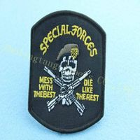 2014 custom army embroidery patches China direct manufacture thumbnail image