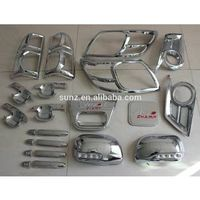 TOYOTA HILUX VIGO 2012- Toyota pick up full chromed kits car accessorie