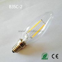 LED FILAMENT LAMP B35C-2 with CE and ROHS
