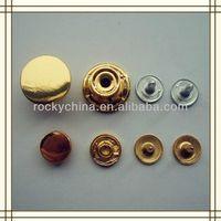 Glod shank button/ Jeans Button