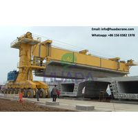 Exported 150 ton mobile metro straddle carrier manufacturer for moving and lifting girder