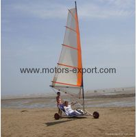 Wind Power Go Kart/Land Yachts with 4.5m high sails