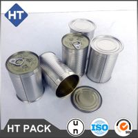 food grade tin can with easy open lid