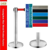 LG-A1 Stainless Steel Belt Queue Barrier thumbnail image