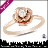 New design ladies finger ring stone ring from China thumbnail image