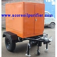 Mobile Trailer Transformer Oil Treatment Machine