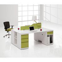 Office Desk with Desktop Screen