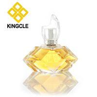100ml empty perfume glass bottle with acrylic cap