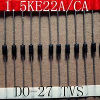 Free Samples 1500W 22V TVS Chip Diode 1.5KE22A/CA DO-27 Case thumbnail image
