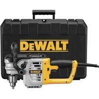 """DeWalt DWD460K 1/2"""" Right Angle Stud & Joist Drill with Bind-Up Control in Kit Box"""