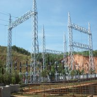 High Voltage HV Outdoor Switchyard Switching Point Switching Station Substation Hydroelectric Power thumbnail image