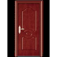 Stylish wooden mother-son door design plain wood bedroom door old qntique solid wood door
