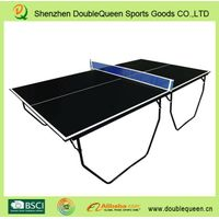 Simply Foldable Indoor Table Tennis Table for family fun