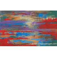 Hand painted abstract painting on canvas ,acrylic painting