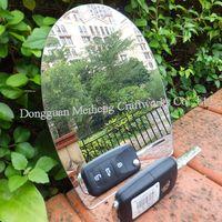 1.8x1220x1830MM Plastic Adhesive PS Mirror / Board