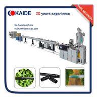 Round dripper irrigation pipe extruder machine KAIDE 80m/min
