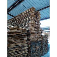 White oak unedged timbers