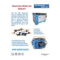 waterjet cutting machine Intensifier Pump APW-A12+B
