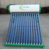 2014 new stainless steel pressurized solar water heater