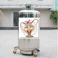 400L Cryogenic Liquid Oxygen/Nitrogen/Argon Storage and Transport Cylinder thumbnail image