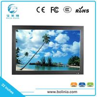 22 inch Built-in VGA/HDMI/BNC input LCD CCTV test monitor TV