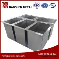 Stainless Steel Metal Production Sheet Metal Fabrication Machinery Parts
