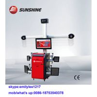 3D camera movable,wheel alignment machine