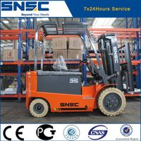 3ton battery forklift electric fork lift