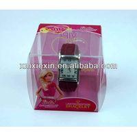 cheap small clear plastic watch box thumbnail image