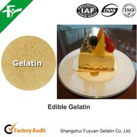 Food supplement gelatin