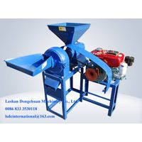 Engine driving rice mill and powder crusher machine NF6.0-19