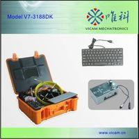 Professional Pipe Inspection Camera with DVR & Keyboard thumbnail image