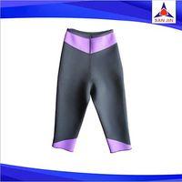 2015 Anti cellulite capris Neoprene hot body yoga pants suits hot Slimming pants