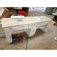 Double Portable Nails Care Furniture Nail Table For Sale thumbnail image