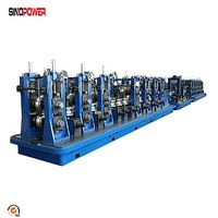 Hollow section steel pipe making machine square pipe forming machine thumbnail image