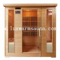 4 person hemlock carbon heater infrared sauna room