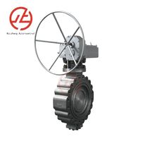 Lug triple offset butterfly valve