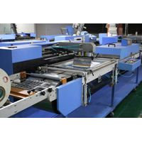 Two colors Content labels automatic screen printing machine thumbnail image