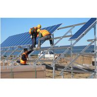 fixed type solar mounting system