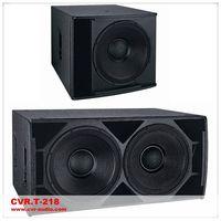 """professional subwoofer+ 18"""" loudspeaker+ dual 18"""" bass bin"""