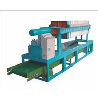 Cast iron&rubber material 800 Hydraulic Filter Press thumbnail image