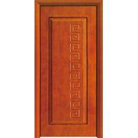 Interior Wooden Door Solid Carving Wood Door Made in China